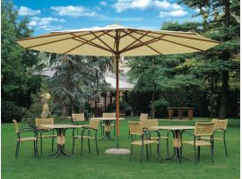 Alghero Telescopic garden umbrella