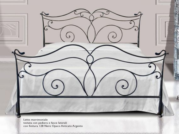 Wrought-iron bed Wilde
