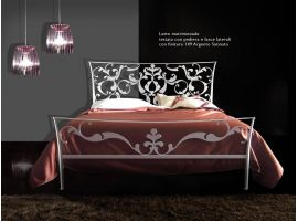 Wrought iron bedGoethe