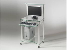 Compact crystal desk