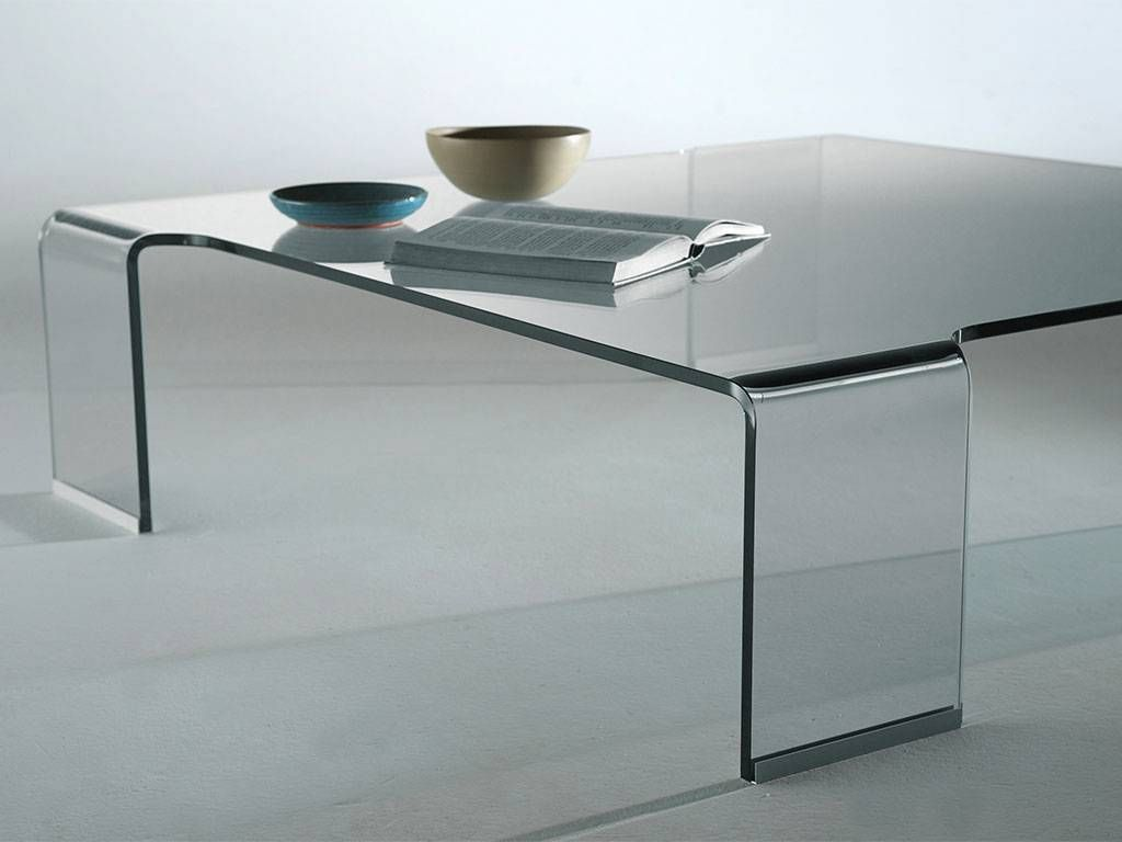 Table basse en verre courbe - Table basse verre but ...