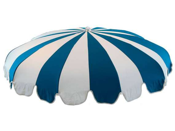 Charlestone sun umbrella with curved ribs
