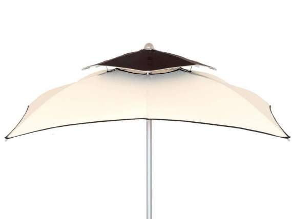 Quadrato Double Square sun umbrella