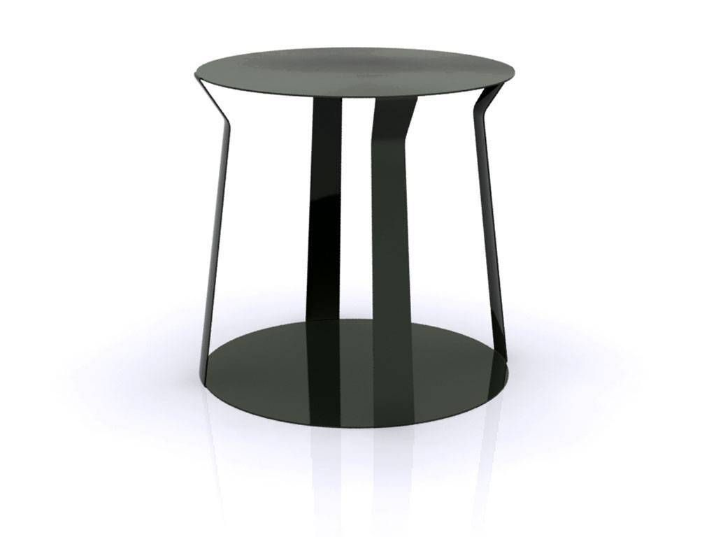 round metal small table freeline 1. Black Bedroom Furniture Sets. Home Design Ideas