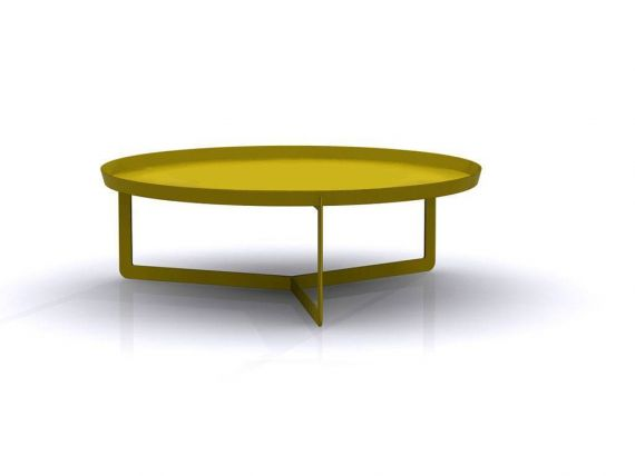 Round Metal Small Table Round 3