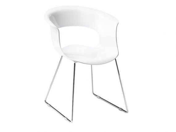 2691 Miss B sled base chair