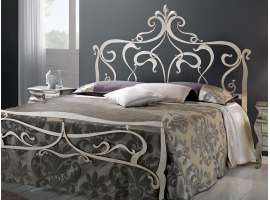 Wrought iron bed Don Carlos