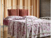 Don Carlos wrought iron bed