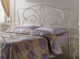 Wrought iron bed Zaide