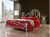 Zaide wrought iron bed