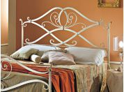 Giglio wrought iron bed