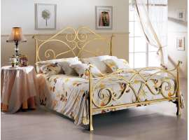 Loreley wrought iron bed
