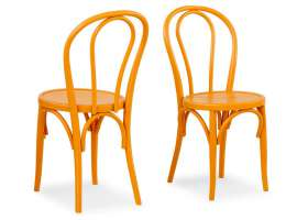 Thonet 01/A4 classic wooden chair painted