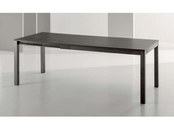 Crono melamine extendable table