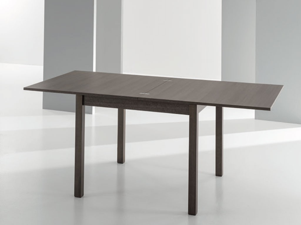 Table carree avec rallonge for Table carree rallonge design
