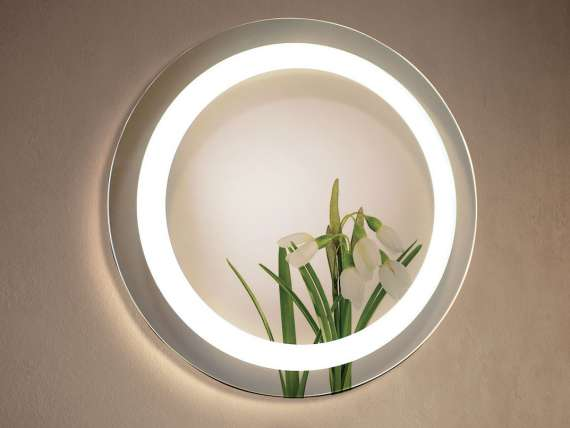 MIAMI round mirror Led for bathroom