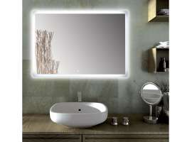 SOLE rectangular mirror Led for bathroom