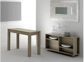 MAGIC BOX 320 Extendible Table Consolle in wood