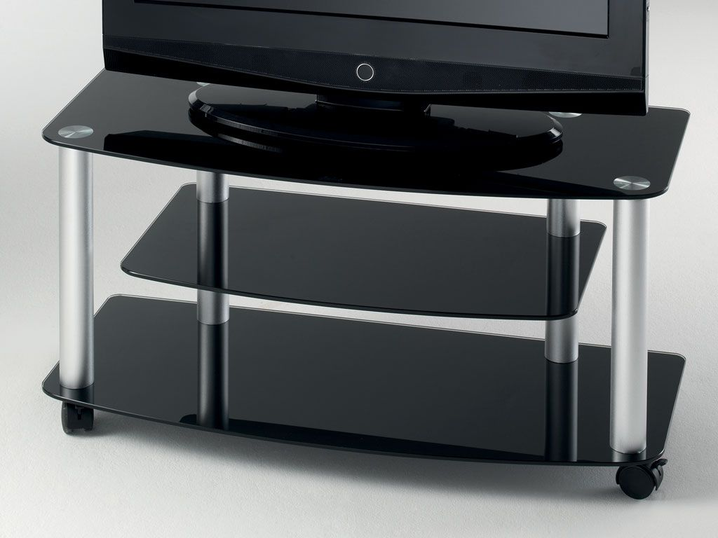 Tv stand with wheels beli indonesian set lot murah - Meuble tv a roulette ...