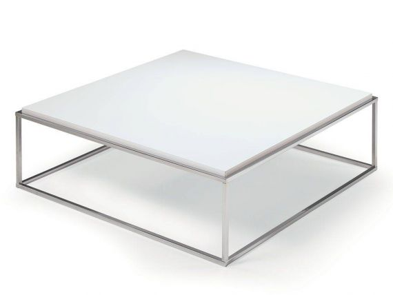Short square coffee-table Lamina