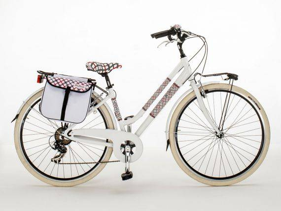 Woman aluminium bicycle Glamour Scottish 605