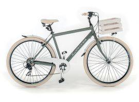 Man bicycle in aluminum Milano 699