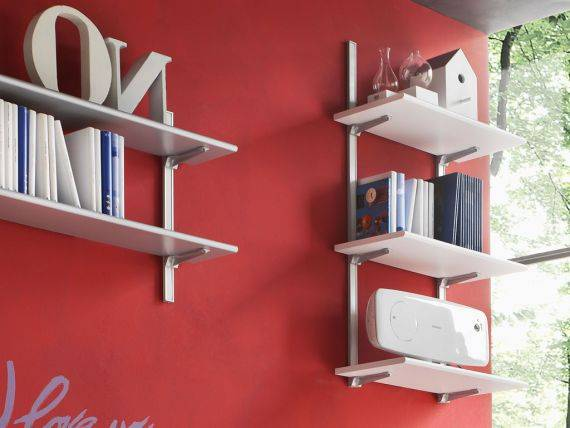 Modular shelves bookcase Evolution 60