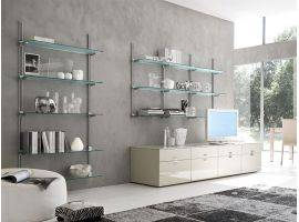 Modular shelves bookcase Evolution 60x28