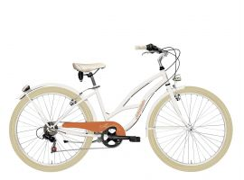 Vintage Bicycle Cruiser Lady