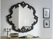 Mirror in crushed glass grit Oceania