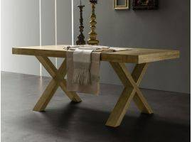 Extendible table in melamine Spot