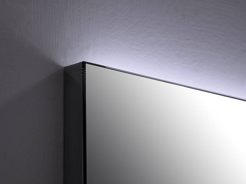 Miroir rectangulaire led r tro clair backstage for Miroir rectangulaire