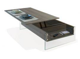 Table avec plateau relevable London