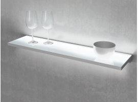 LED light shelf with switch Brandt Slim