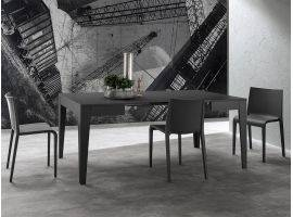King Extending table in wood