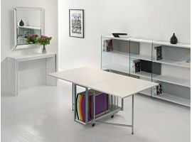 Archimede consolle with table and 6 chairs