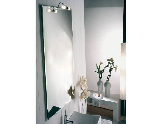 Mirror with spotlight LEADER 1