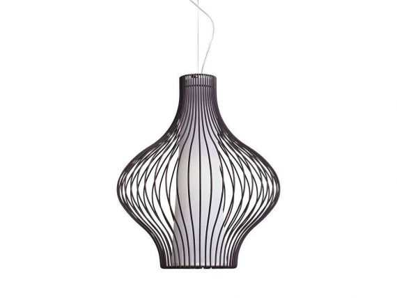 Ceiling lamp with threadlike structure Titti Bulb