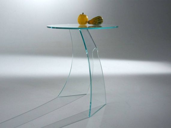 Table basse en verre courbé EtaBeta