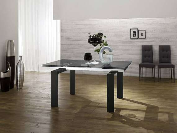 Glaze Legno extending table
