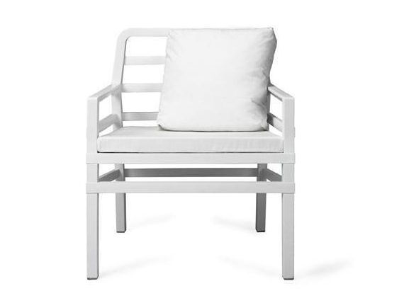 Aria Armchair WHITE in polypropylene