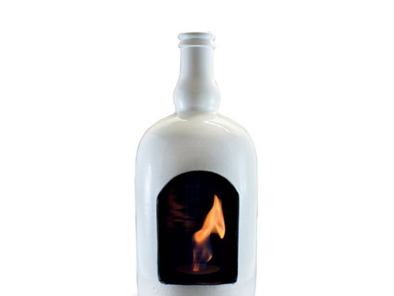 Birra fireplace in ceramic