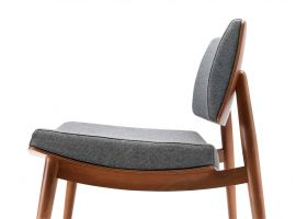 To-Kyo 541 armchair with structure in wood