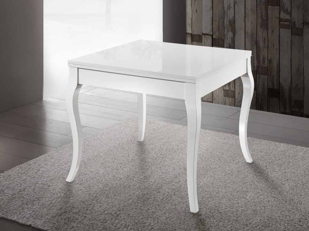 Miami carr table extensible - Table carre extensible ...