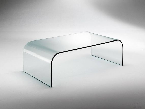 Curved crystal small table Gallery