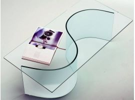 Curved crystal small table Nirvana