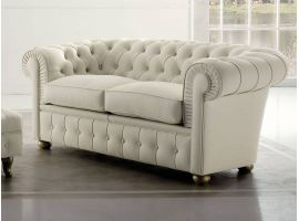 Chester ecoleather or real leather sofa