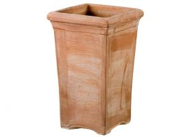 Smooth Umbrella stand 104 terracotta pot