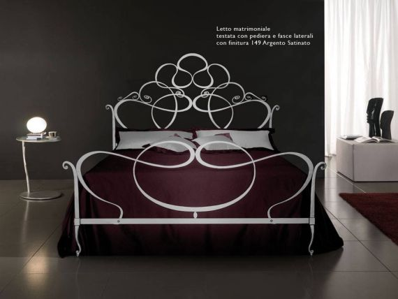 Wrought iron bed Ravel