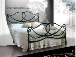 Wrought iron bed Wagner